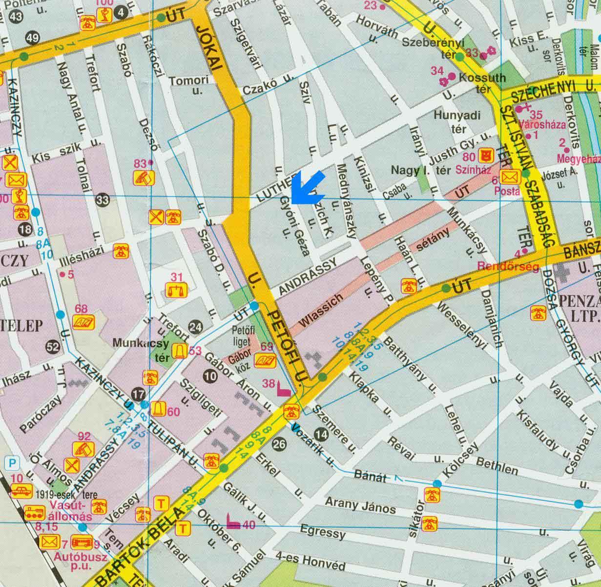 békéscsaba térkép elerhet békéscsaba térkép